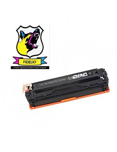 Compatibile con HP CB540A 125A Toner FIDELIO Nero