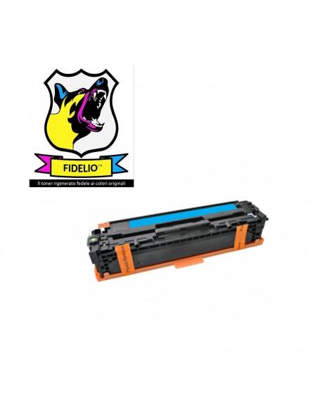 Compatibile con HP CB541A 125A Toner FIDELIO Ciano
