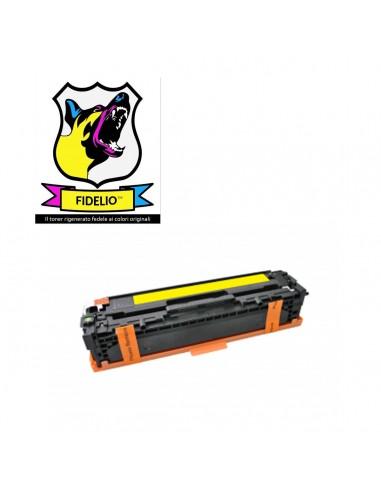 Compatibile con HP CB542A 125A Toner FIDELIO Giallo