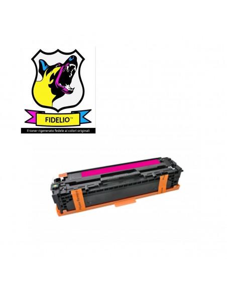 Compatibile con HP CB543A 125A Toner FIDELIO Magenta