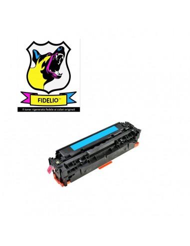 Compatibile con HP CC531A 304A Toner FIDELIO Ciano
