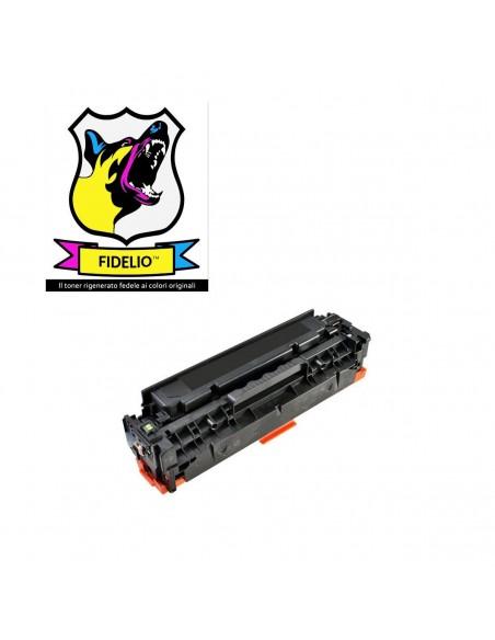 Compatibile con HP CC530A 304A Toner FIDELIO Nero