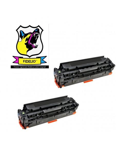 Compatibile con HP CC530AD 304A Toner FIDELIO Nero