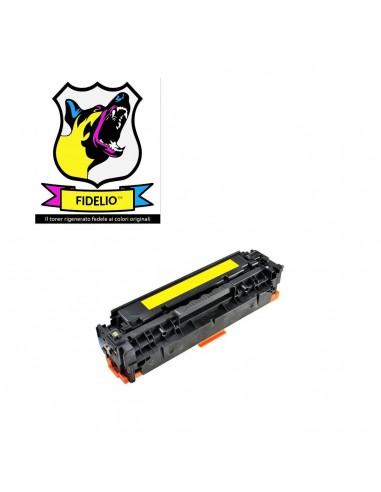 Compatibile con HP CC532A 304A Toner FIDELIO Giallo