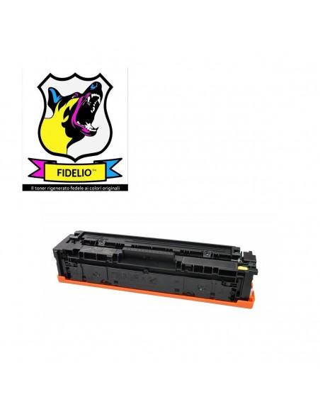 Compatibile con HP CF542A 203A Toner FIDELIO Giallo da 1300 pagine