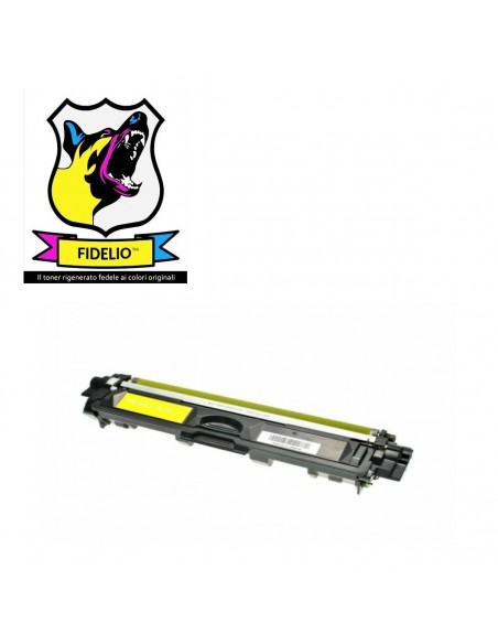 Compatibile con Brother TN245Y Toner FIDELIO Giallo da 2200 pagine