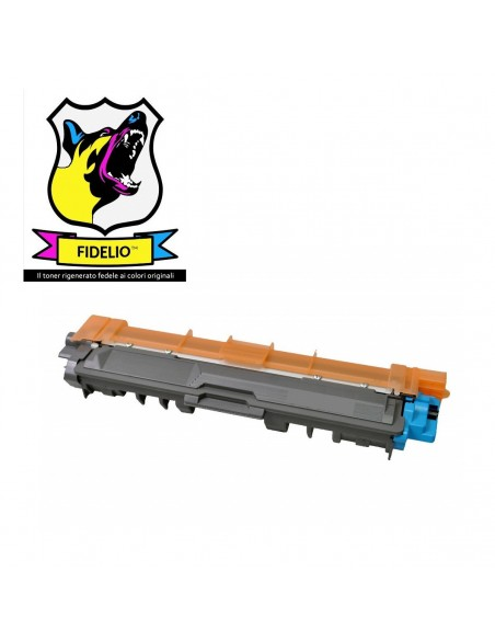Compatibile con Brother TN245C Toner FIDELIO Ciano da 2200 pagine