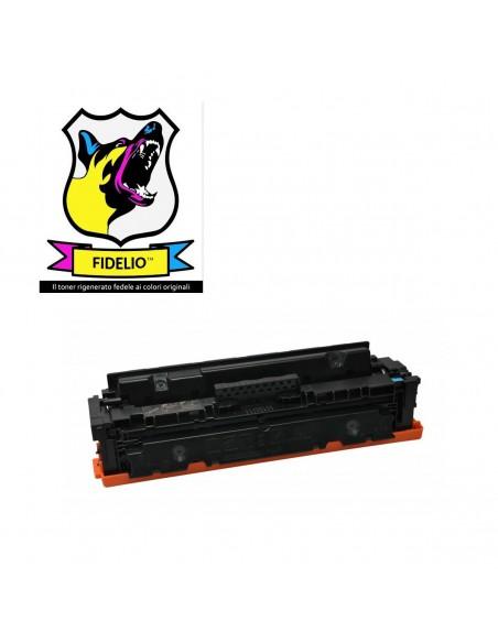 Compatibile con HP CF411X 411X Toner FIDELIO Ciano toner da 5000 pagine