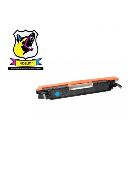 Compatibile con HP CE311A 126A Toner FIDELIO Ciano da 1000 pagine